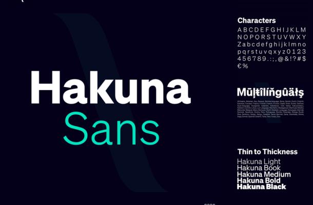 Hakuna Font