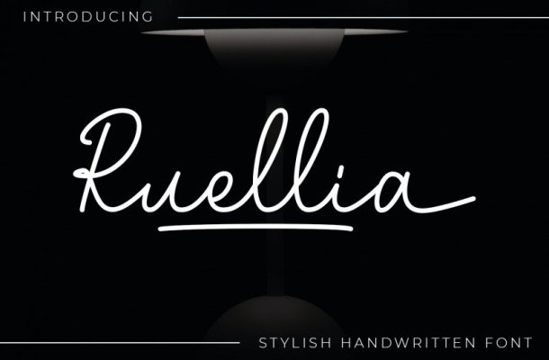 Ruellia Font
