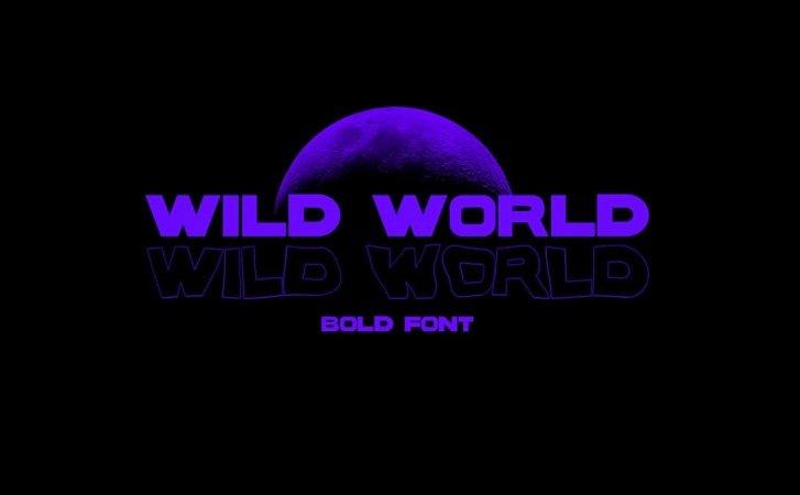 wild-world-font
