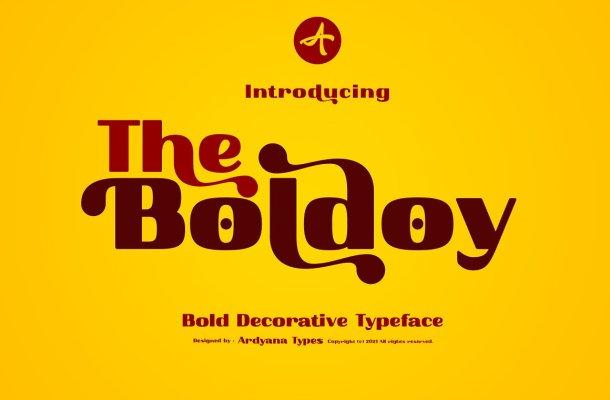 Boldoy Font