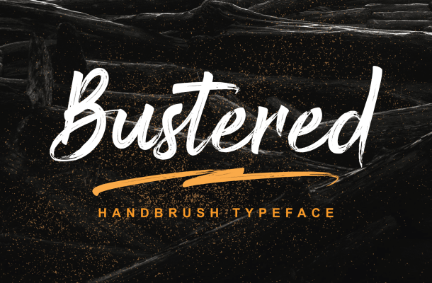 Bustered Font