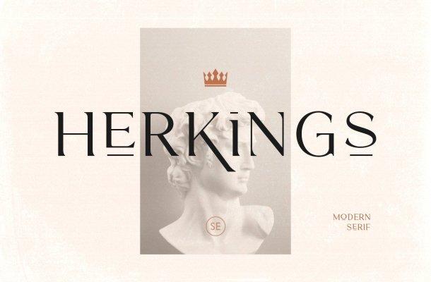 Herkings Font