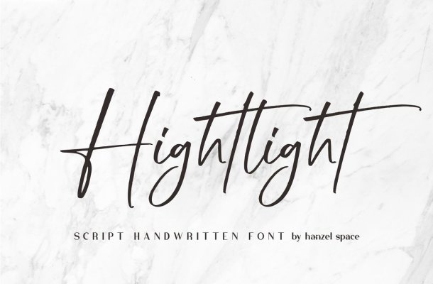 Hightlight Font