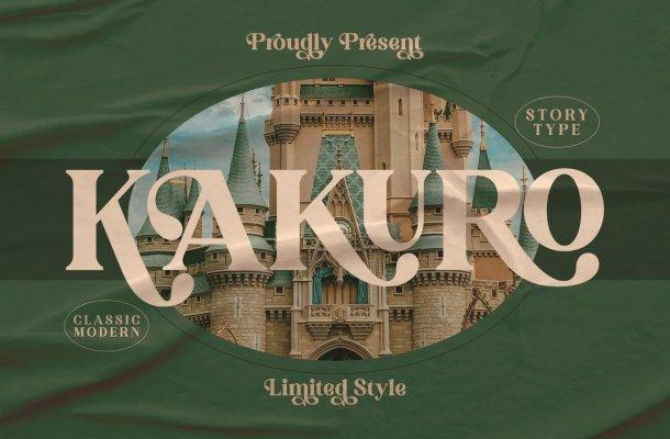 Kakuro Font