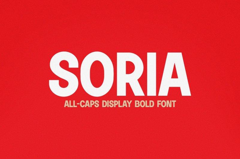 soria-font