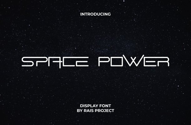 Space Power Font