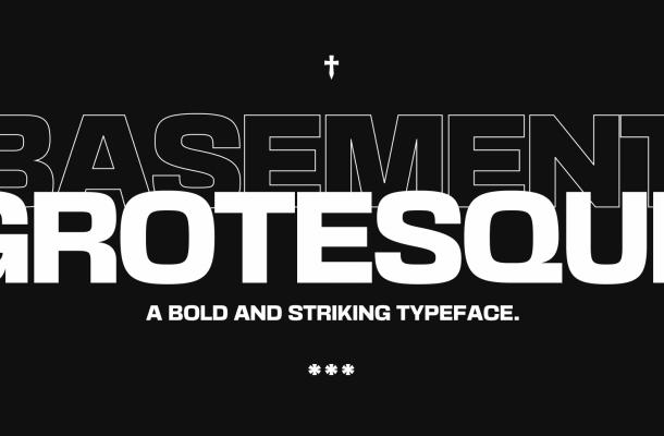 Basement Grotesque Font