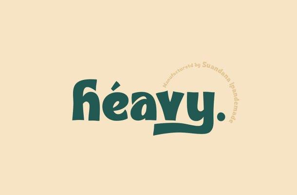 Heavy Bold Font