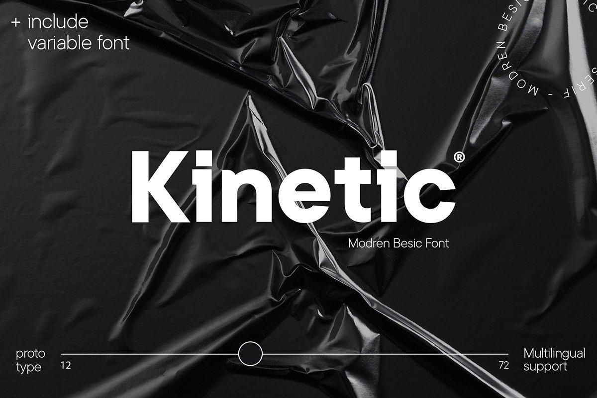 Kinetic Font