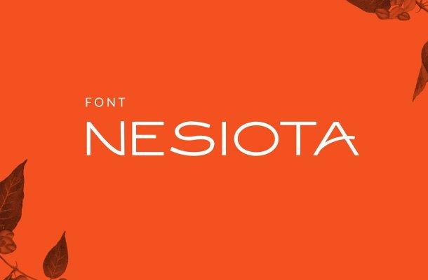 Nesiota Font
