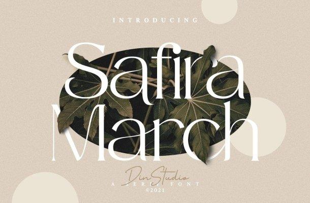 Safira March Font