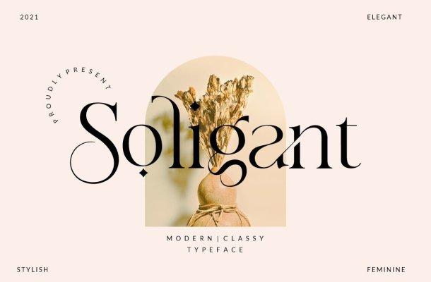 Soligant Font