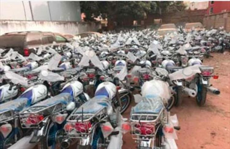 Gambia: Barrow Youth Movement commissions 228 motorbikes