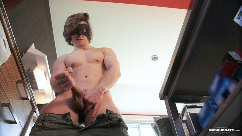 Sexy Hunk Jake Jerks Off 02