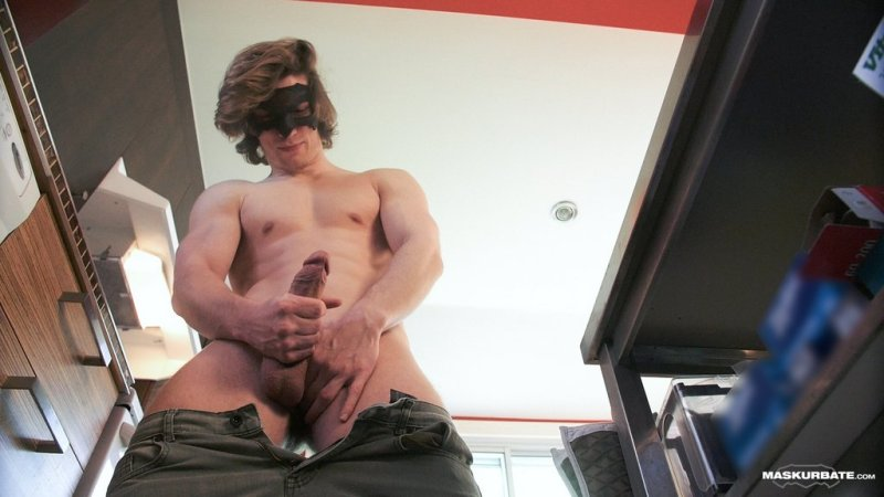 Sexy Hunk Jake Jerks Off 03
