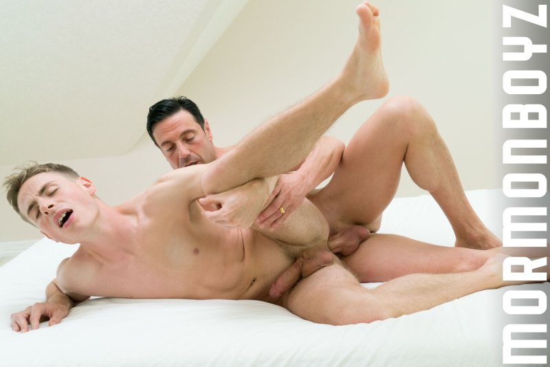 Young Boy Takes Mormon Rituals and Huge Raw Dick 21