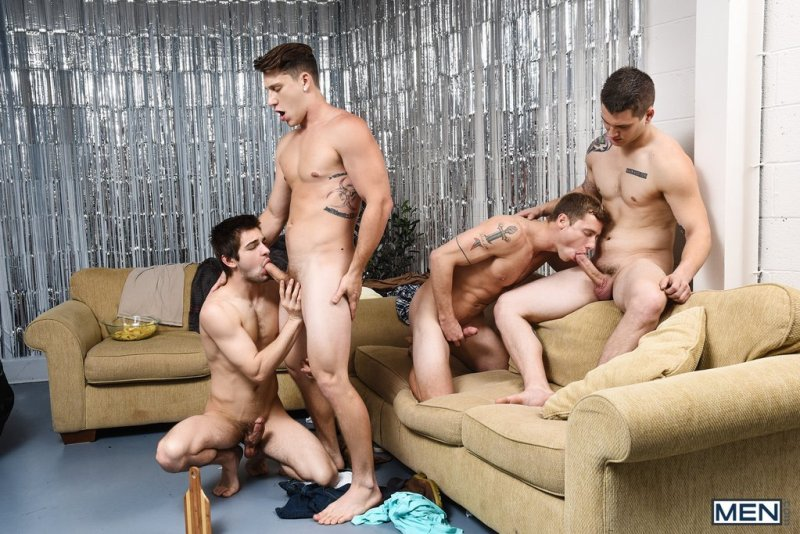 Paul Canon In Naked Frat House 06