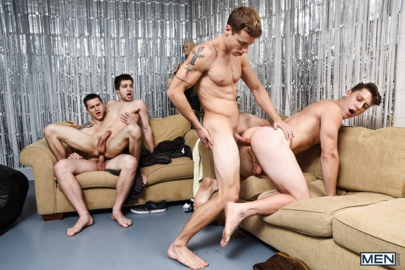 Paul Canon In Naked Frat House 12