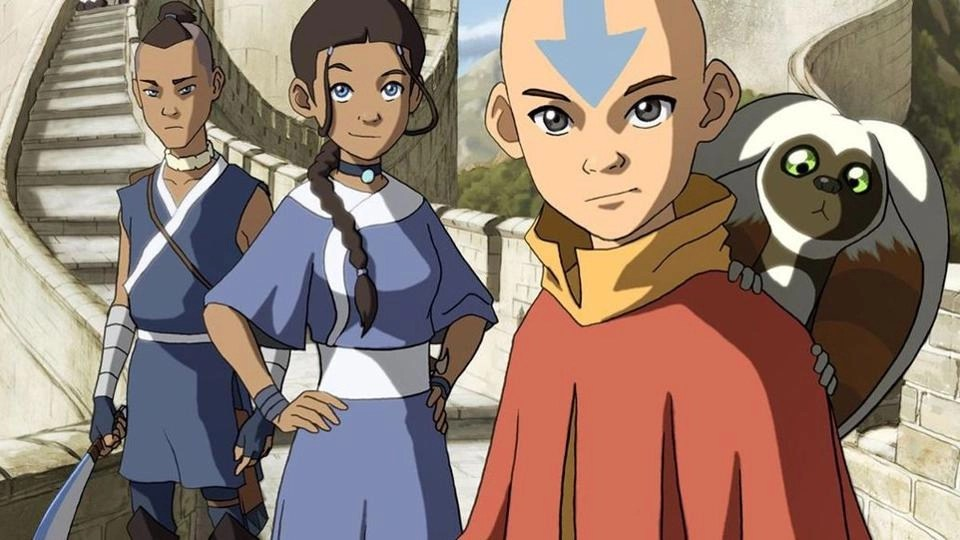 Avatar: The Last Airbender, Aang, Katara and Sokka
