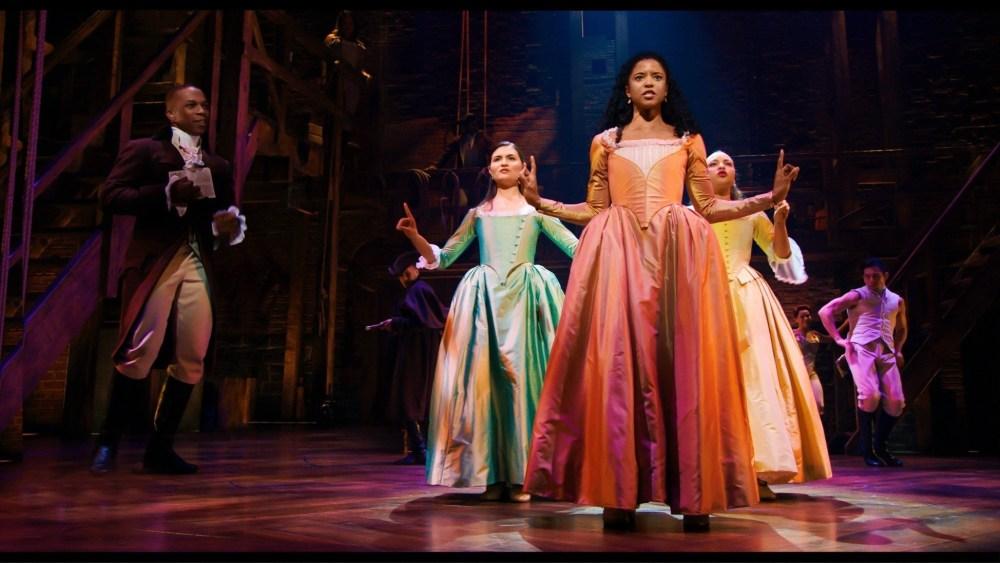 Hamilton cast - the Schuyler sisters
