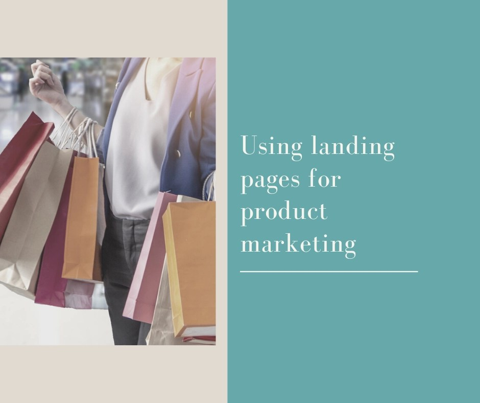 Landing pages for marketing