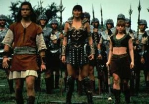 Giant Killer David and Xena