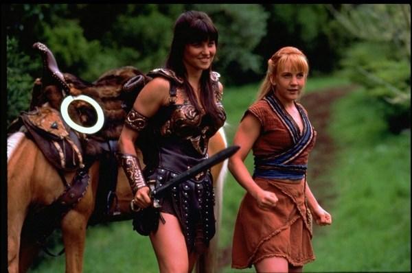 Xena, Gabrielle and Argo