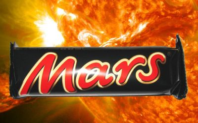Mars ruft verbrauchet Energie zurück