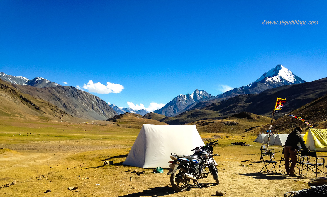 Camps at Chandratal Lake, Spiti Valley