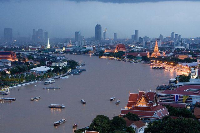 Chao Phraya river - Bangkok trip