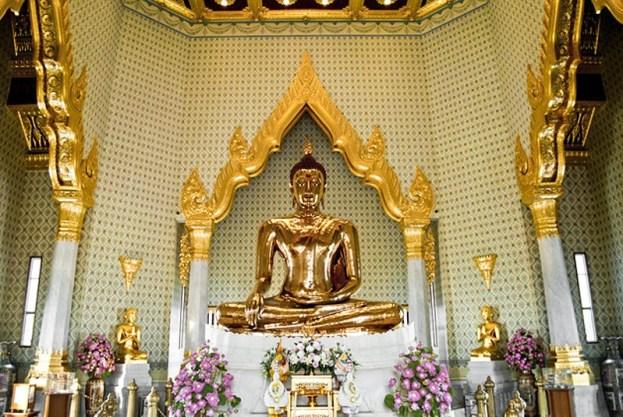 Wat Traimit - The Golden Buddha - Bangkok trip