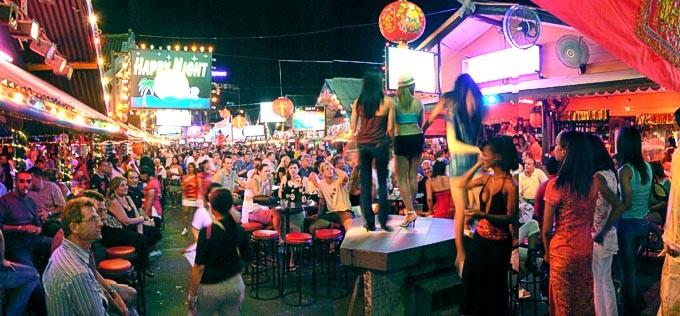 Bangla Road, Patong town; Phuket, Thailand