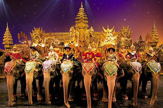 Phuket Fantasea Show; Patong town, Phuket, Thailand
