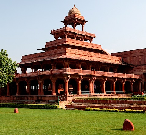 Panch-Mahal at Fatehpur Sikri