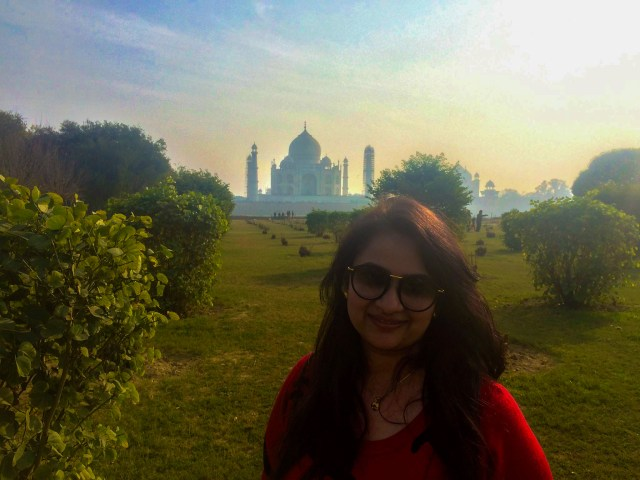 Taj across Yamuna river from Mehtab Bagh - My travel book of 2016! Looking for more in 2017