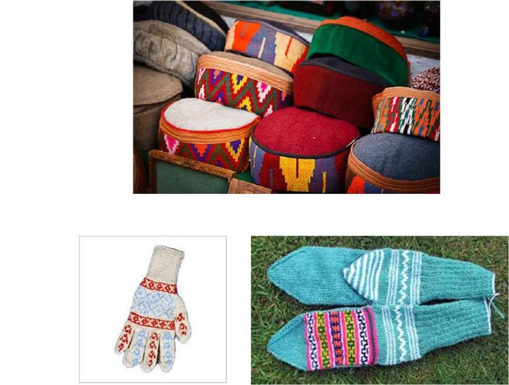 Bhuttico Kullu Woolen Caps, gloves