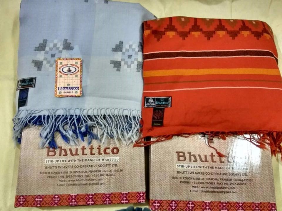 Bhuttico Kullu Shwals & Accessories - gift of Kullu valley