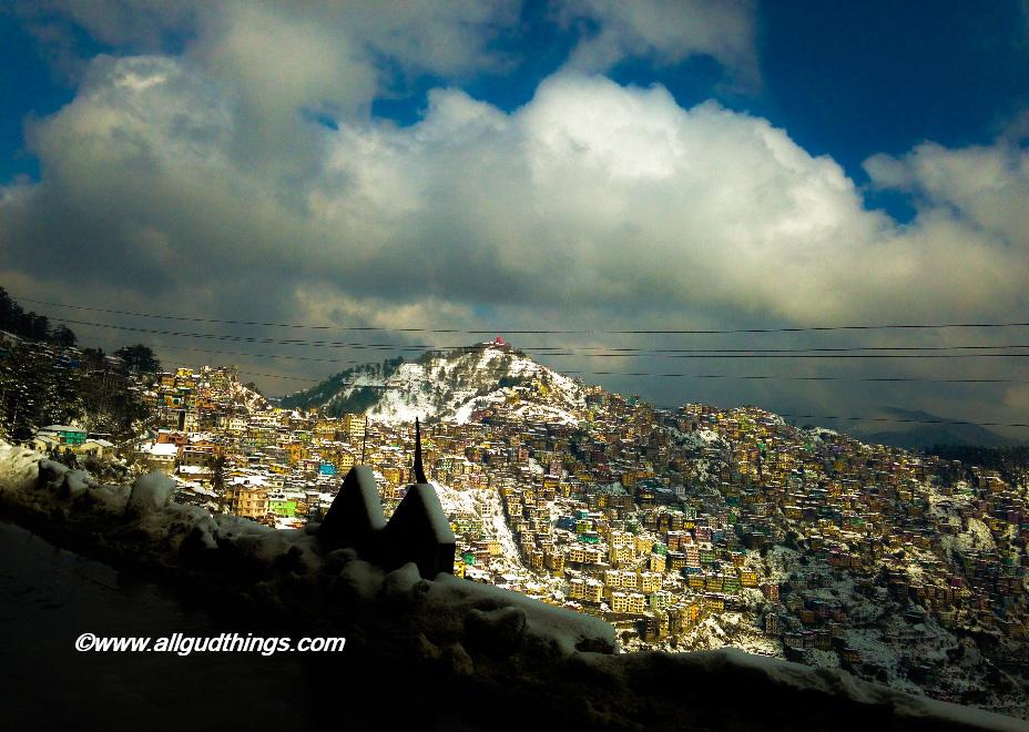 Sanjauli - Beautiful Shimla after Snowfall