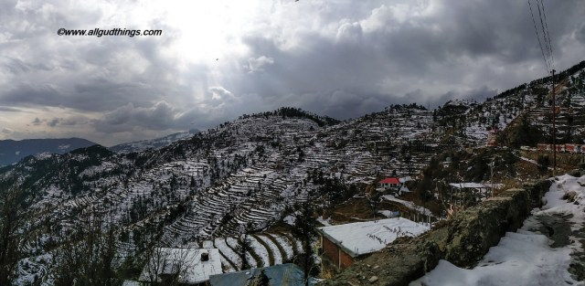 Fagu - Theog - Near Shimla after snowfall
