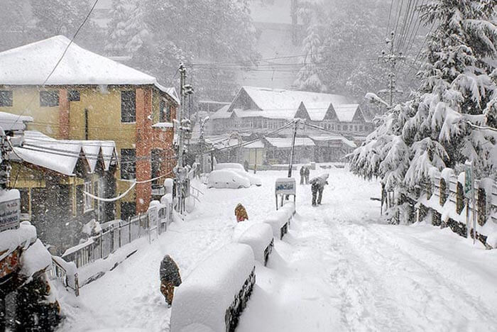 Dalhousie - 5 winter destinations to see snowfall in Himachal