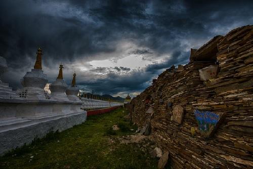 The Colored Tibetan Prayer Stones: Mani Stones