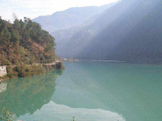Maneri lake near Uttarkashi in Uttrakhand