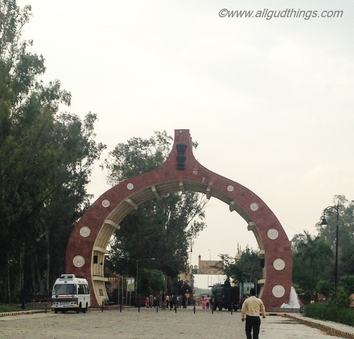 Entrance to Hussainiwala Border, Firozpur