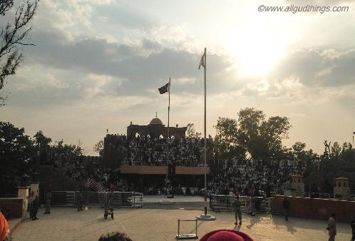 An hour of Patriotism :  Flag Retreat Ceremony at Hussainiwala Border, Firozpur