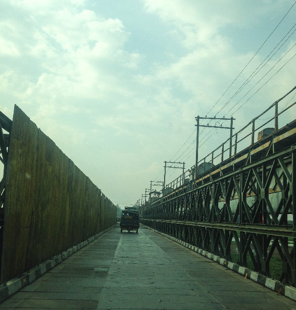 Iron Bridge near Hussainiwala Border, Firozpur