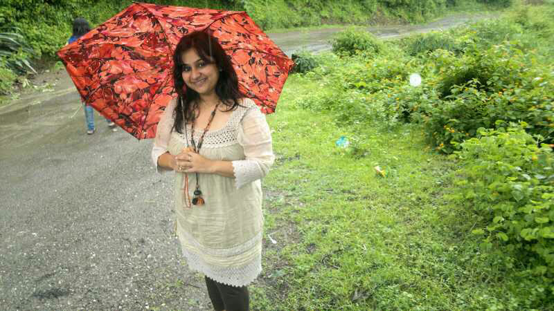 With Umbrella - The Monsoon road trips to the hills