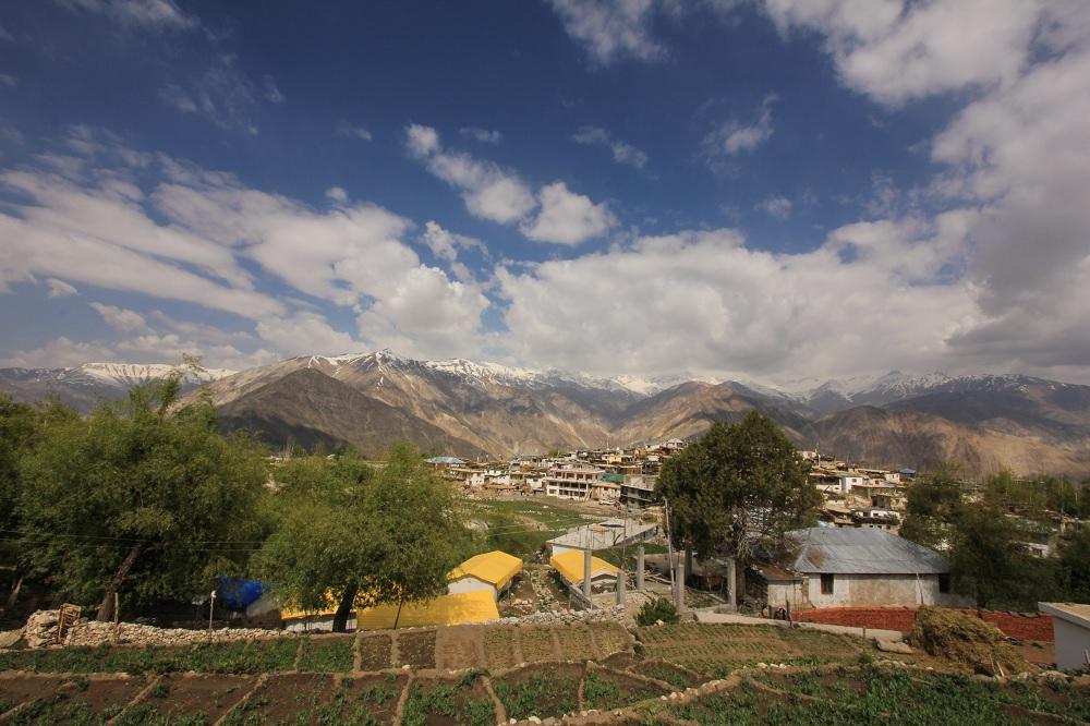 A walk to the Nako Village; Himachal Pradesh