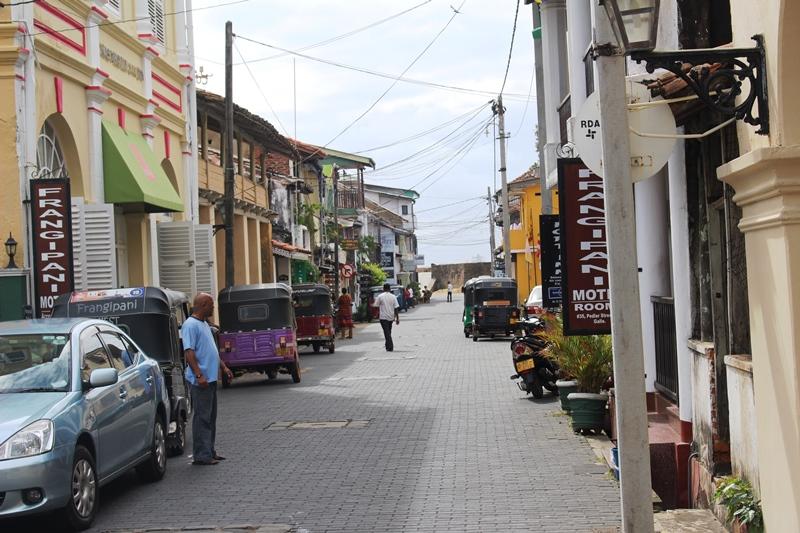 Galle Fort Streets: Apa Villa Illuketia, Sri Lanka