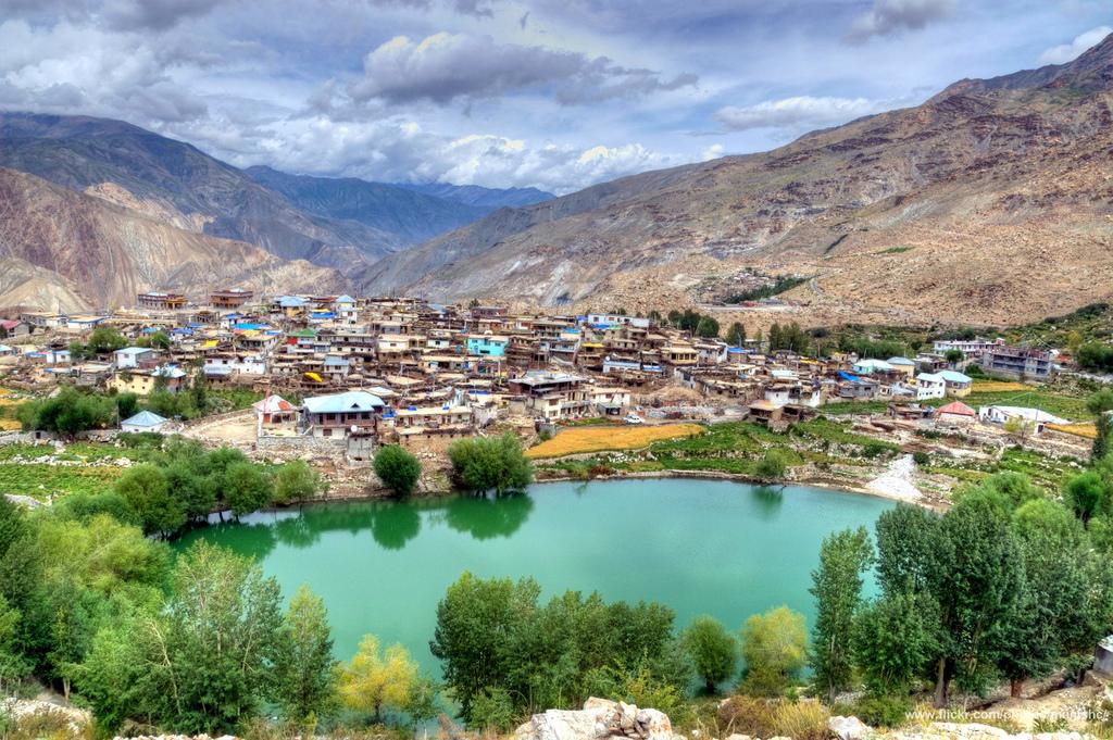 Nako Lake at Nako Village, Himachal Pradesh