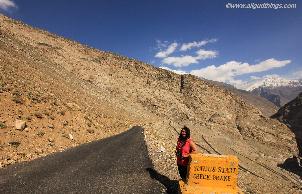 Road to Nako Village, Kinnaur, Himachal Pradesh